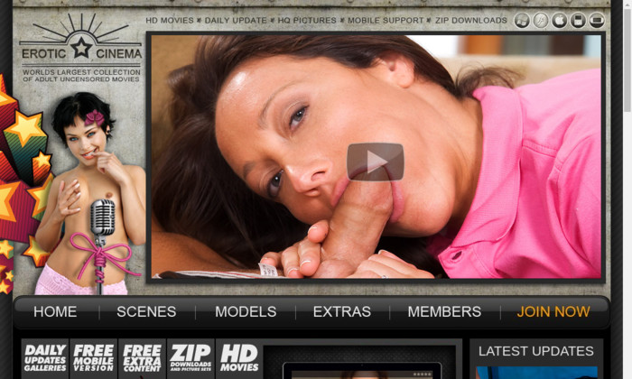 erotic cinema