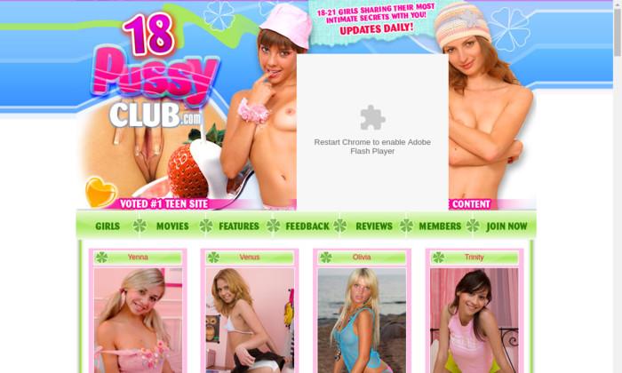 18 pussy club