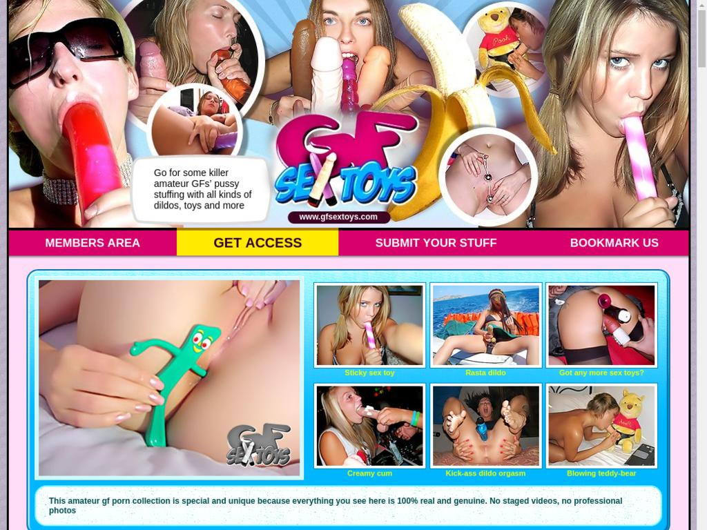 Girl dry hump stuff toys