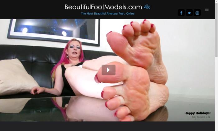 beautiful foot models