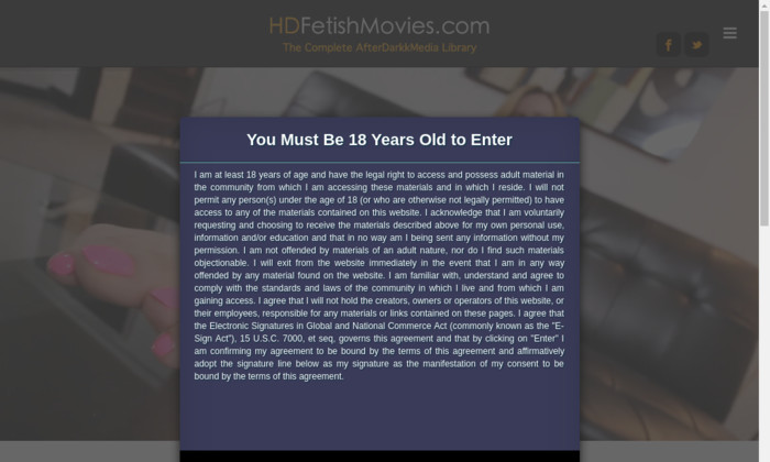 hd fetish movies