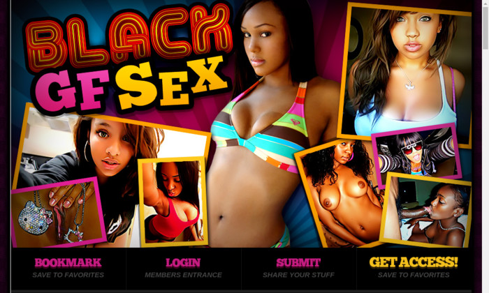 black gf sex