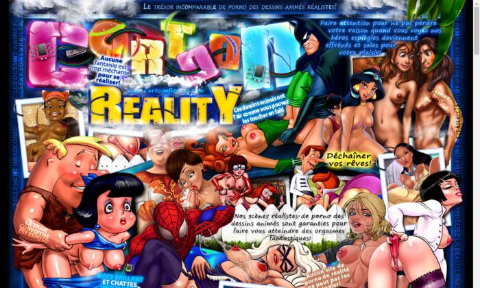 cartoon reality