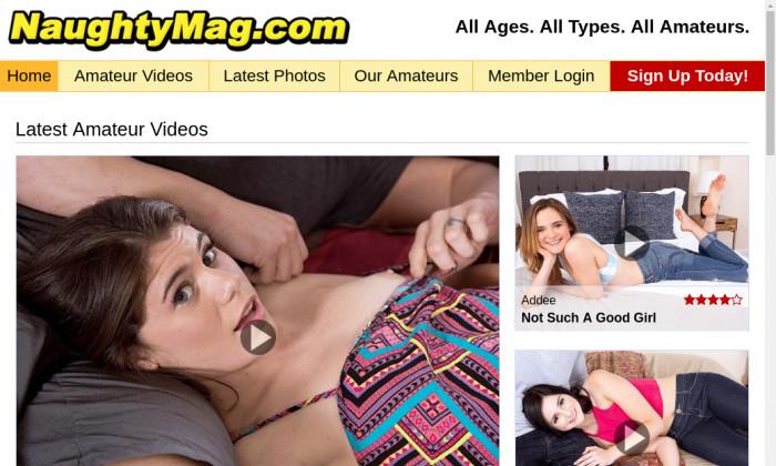 naughty mag
