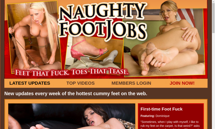 naughty foot jobs