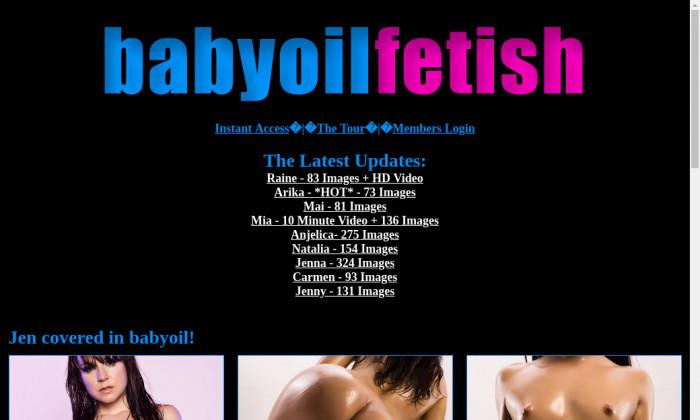 babyoil fetish