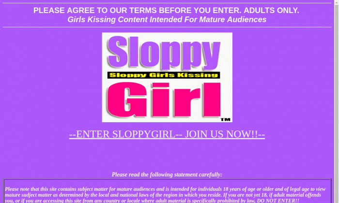 sloppy girl