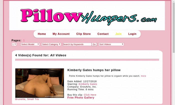 pilow humpers