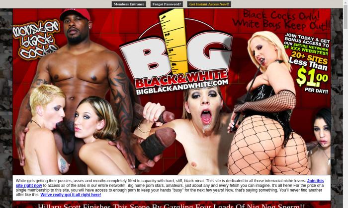 big blackand white