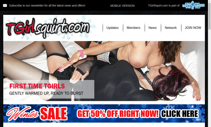 tgirl squirt