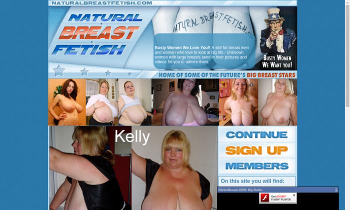natural breast fetish