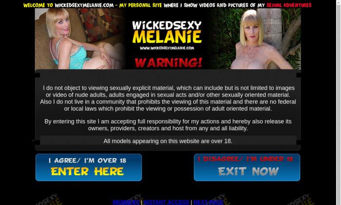 wicked sexy melanie