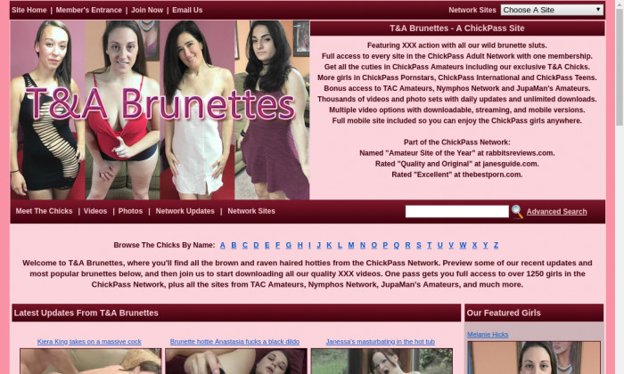 tand a brunettes