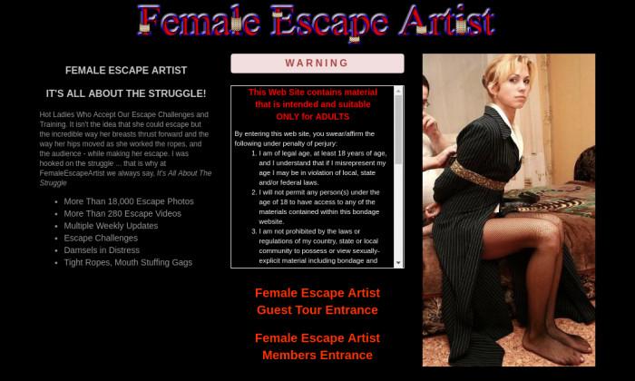 female escape artist