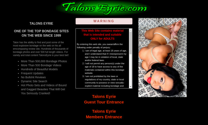 talons eyrie