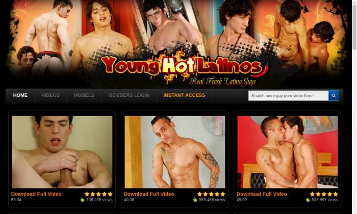 young hot latinos