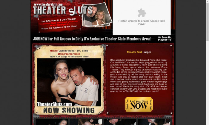 Sluts theater adult porn what that