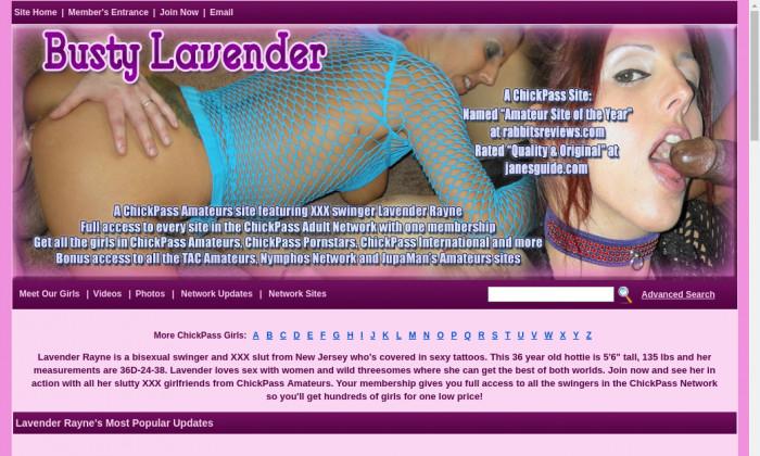 busty lavender