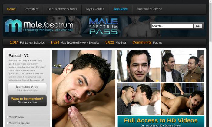 male spectrum pass