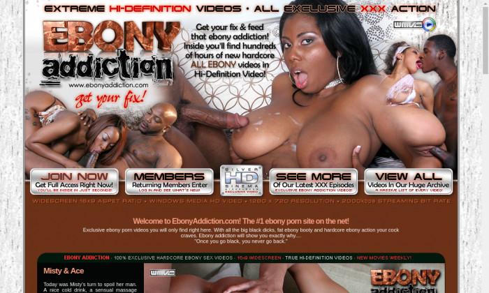 ebony addiction