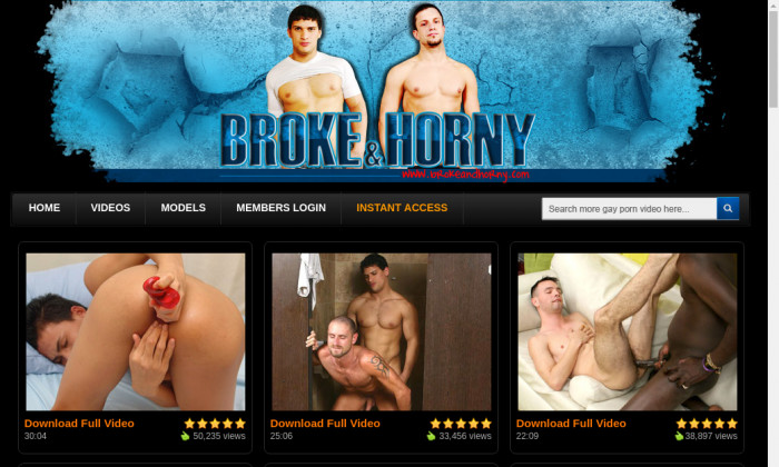 broke and horny