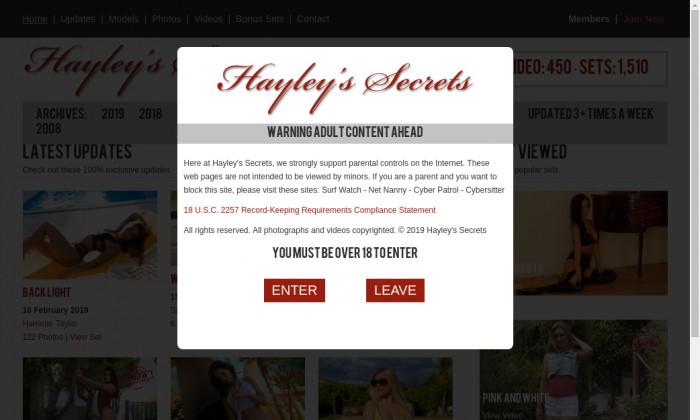hayleys secrets