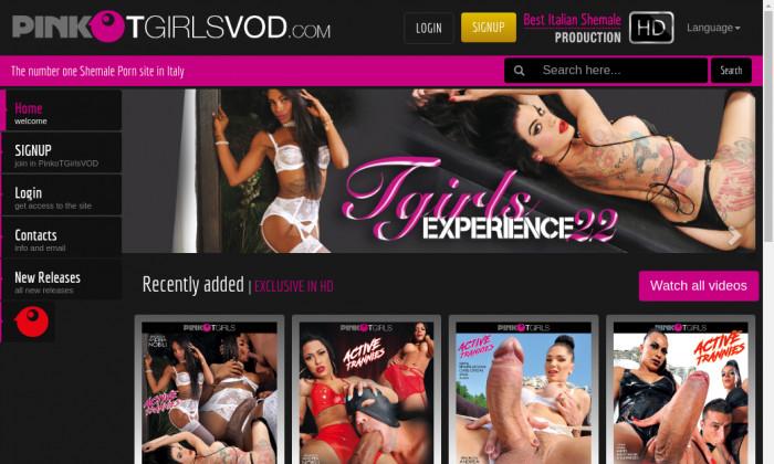 pinko t girls vod