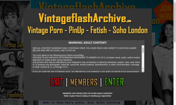 vintage flash archive