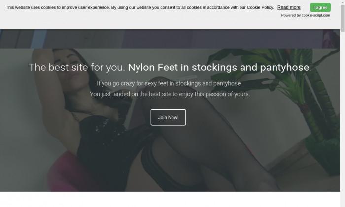 nylon feet love