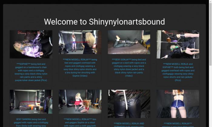 shiny nylon arts bound