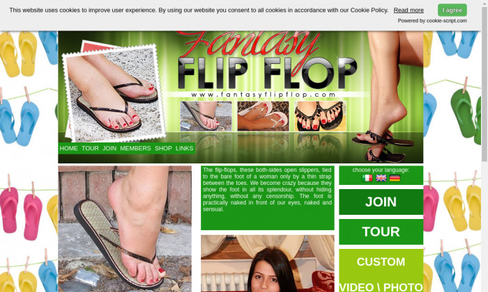 fantasy flip flop