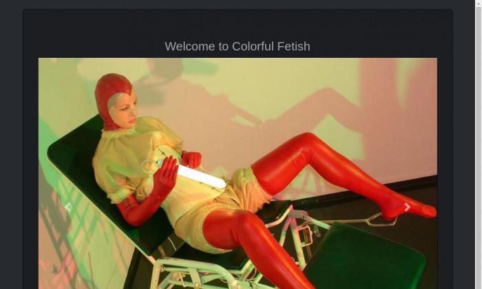 colorful fetish