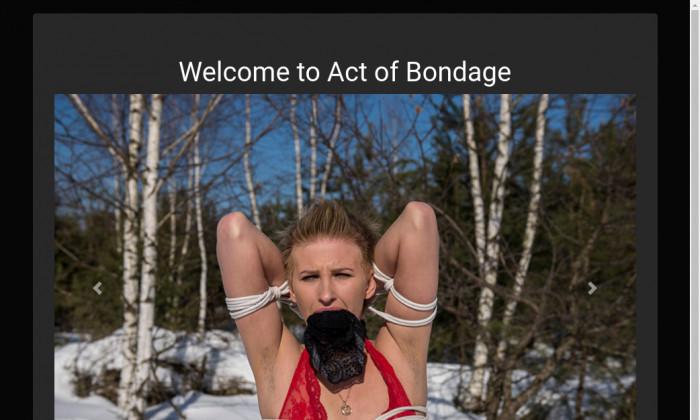 act of bondage