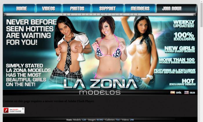 la zona modelos