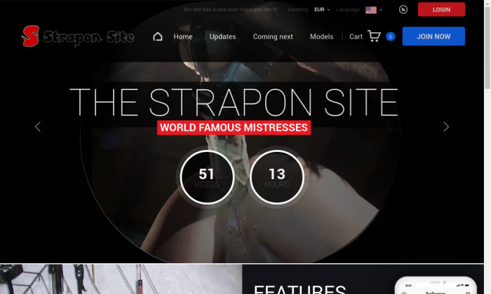 the strapon site