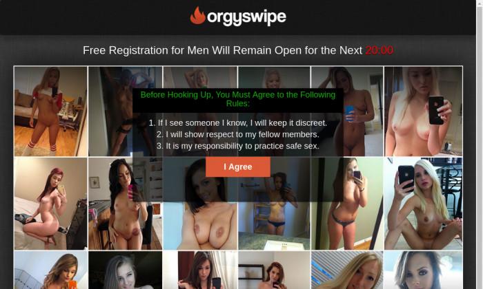 orgy swipe