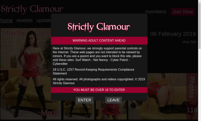 strictly glamour