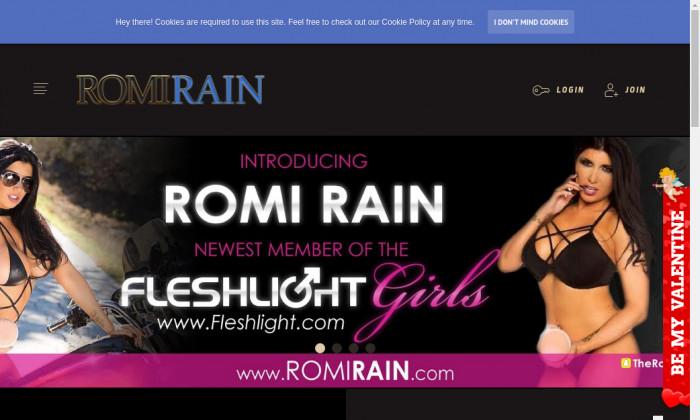 romi rain