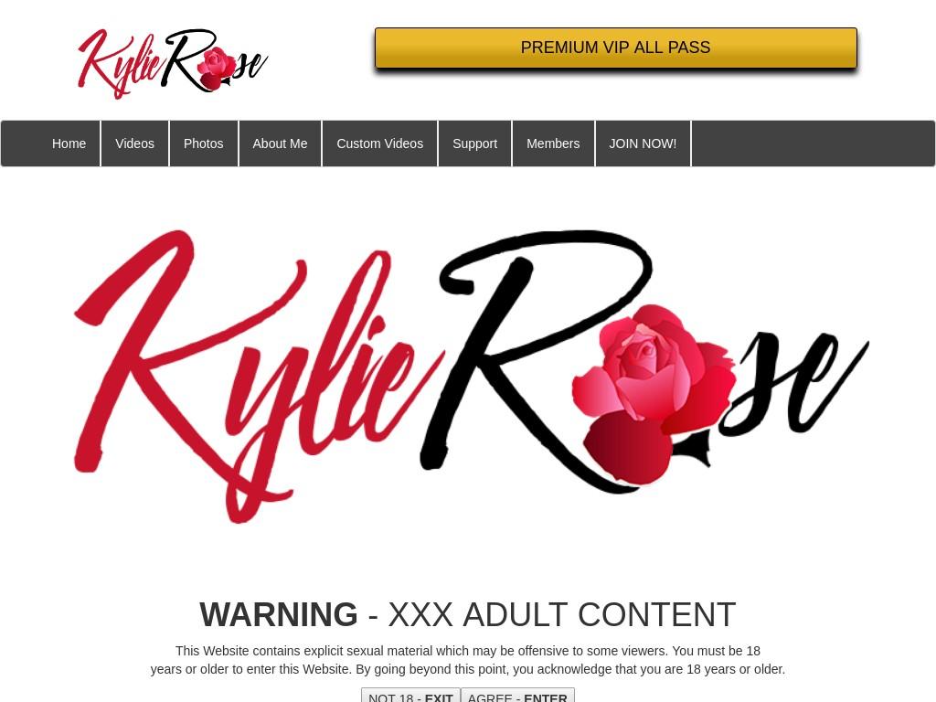 kylie rose fetish