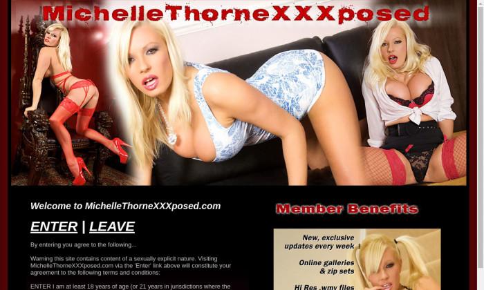 michelle thorne xxx posed