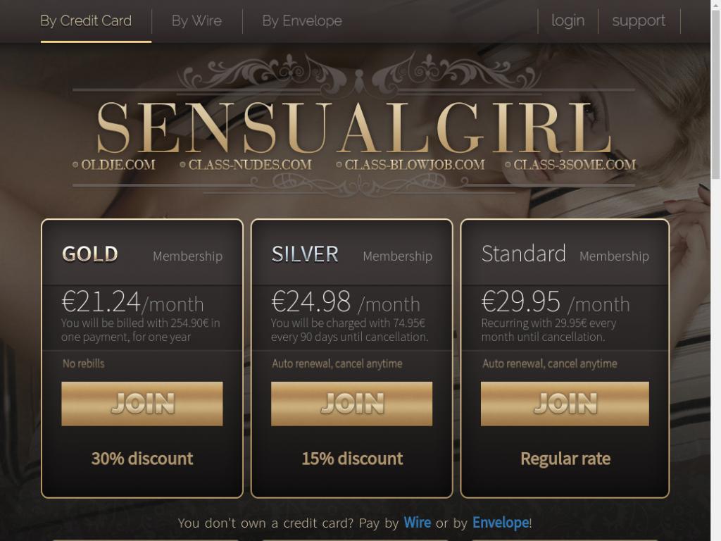 Sensualgirl Password