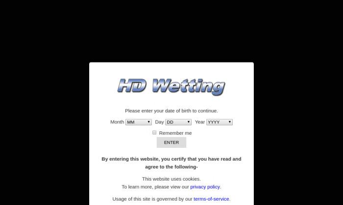 hd wetting