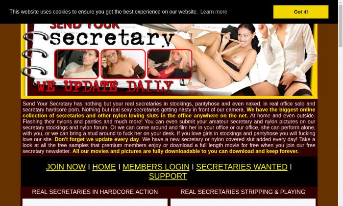send your secretary