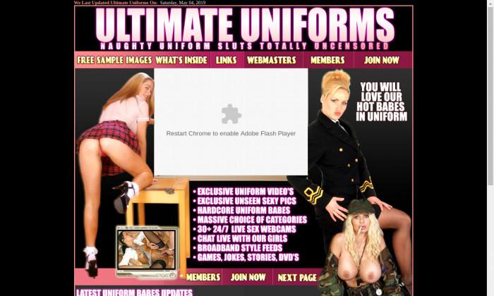 ultimate uniforms