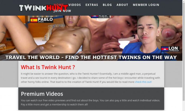 twink hunt