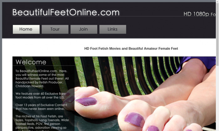 beautiful feet online
