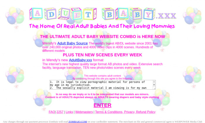 adult baby