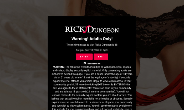 ricks dungeon