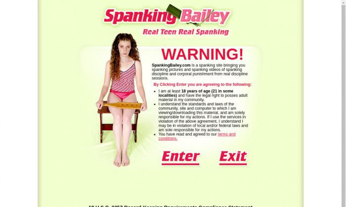 spanking bailey