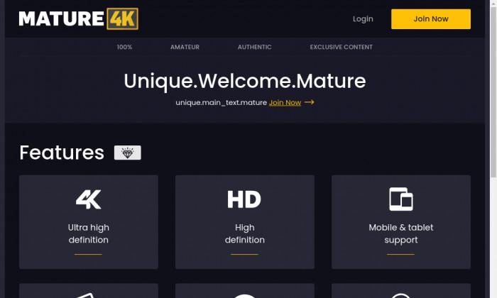 mature 4k